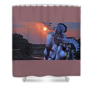 Comanche Spirit Shower Curtain