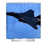 Combat Jet Shower Curtain