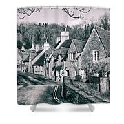 Combe Stone Shower Curtain
