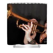 Come Blow Your Horn  ... Shower Curtain