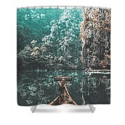 Come In My Paradise Shower Curtain