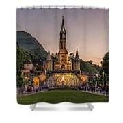 Come In Procession Shower Curtain
