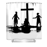 Come Let Us Worship Shower Curtain