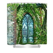 Come Meet God Shower Curtain