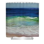 Come On In Shower Curtain by Jeanne Rosier Smith