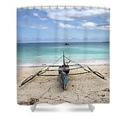 Come Or Go Shower Curtain