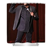 Comedian Arsenio Hall  Shower Curtain