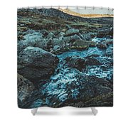 Comeragh River Shower Curtain