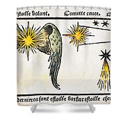 Comet, 1496 Shower Curtain