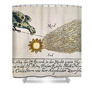 Comet, 1664 Shower Curtain