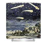 Comets Shower Curtain