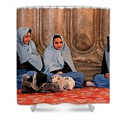 Comfort In Our Friendship  Shower Curtain