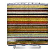 Comfortable Stripes Vl Shower Curtain by Michelle Calkins
