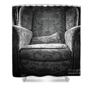 Comfy Chair By The Window Shower Curtain