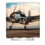 Coming Aboard Shower Curtain