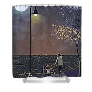 Coming Back Home Shower Curtain