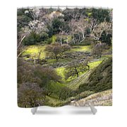 Coming Down The Hill Shower Curtain