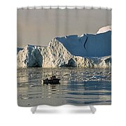 Coming Home - Greenland Shower Curtain