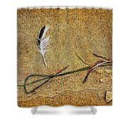 Coming Home To Mother Nature Zen Shower Curtain