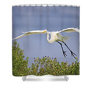 Coming In For A Drink Shower Curtain