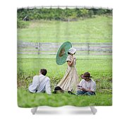 Coming Of Age Shower Curtain