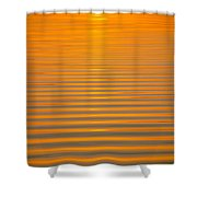 Coming Through In Waves Shower Curtain