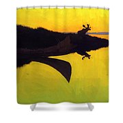 Coming To The Call 1905 Shower Curtain