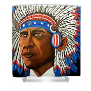Commander And Chief Shower Curtain