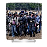 Commanding The Troops Shower Curtain