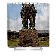 Commando Memorial 2 Shower Curtain