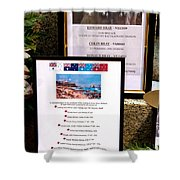 Commemorations Anzac Cove Shower Curtain