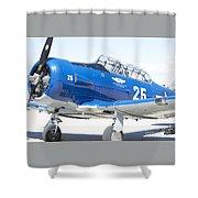 Commemorative Warbird Shower Curtain