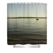 Commencement Bay 1 Shower Curtain