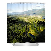 Commerce On The Columbia Shower Curtain