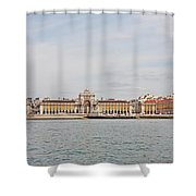 Commerce Square  Shower Curtain