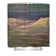 Commissioned Seascape Shower Curtain