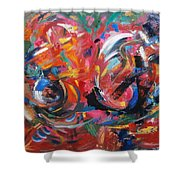 Committee Action Shower Curtain