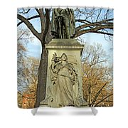 Commodore John Barry Monument Shower Curtain