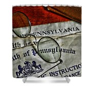Commonwealth Of Pennsylvania Shower Curtain