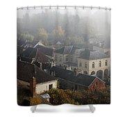 Commune La Roche Guyon Shower Curtain