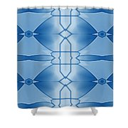 Communications Shower Curtain