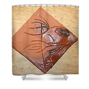 Communion - Tile Shower Curtain