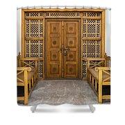 Community Doorway Shower Curtain