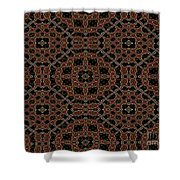 Community Garden Abstract Number One Shower Curtain