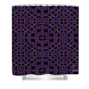 Community Garden Two Abstract Shower Curtain