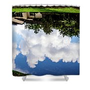 Community Reflections Shower Curtain