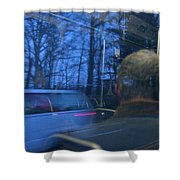 Commuting Shower Curtain