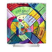 Compartmentalized Information Shower Curtain