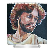 Compassionate Christ Shower Curtain