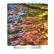 Competitive Forces Shower Curtain